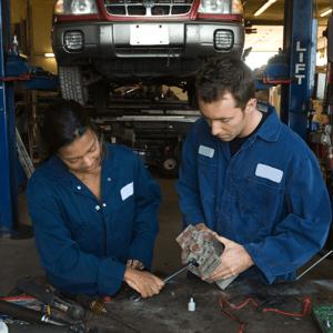 personnel goals in auto repair