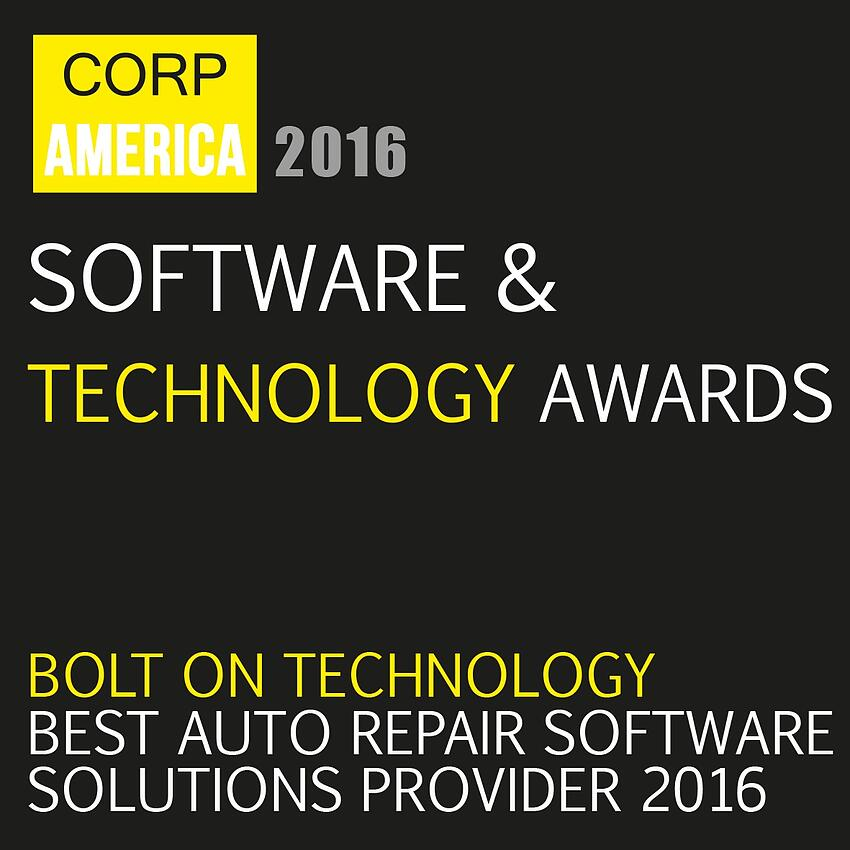 We Won the Best Auto Repair Software Award