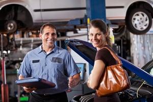 auto mechanic improving rate of retention