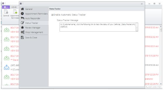 Status Tracker