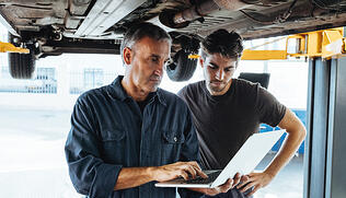 measure gross profit margin in auto repair