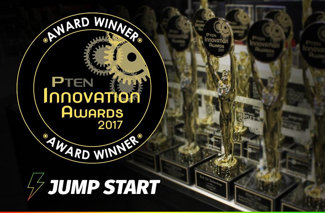 We Won the 2017 PTEN Award for Jump Start