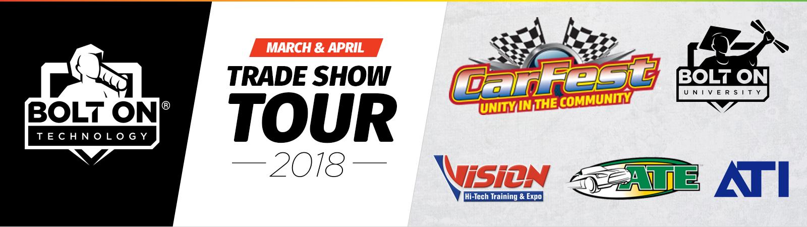 March & April Trade Show Tour