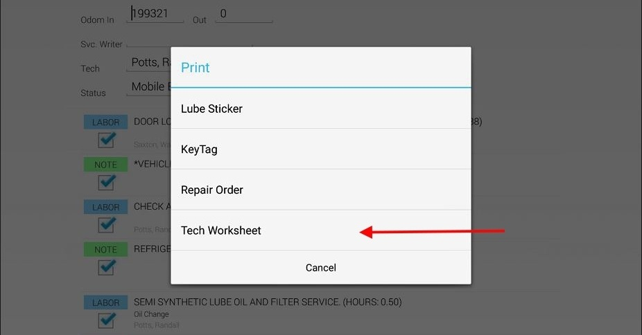 Print Your Tech Worksheets Right From a Tablet