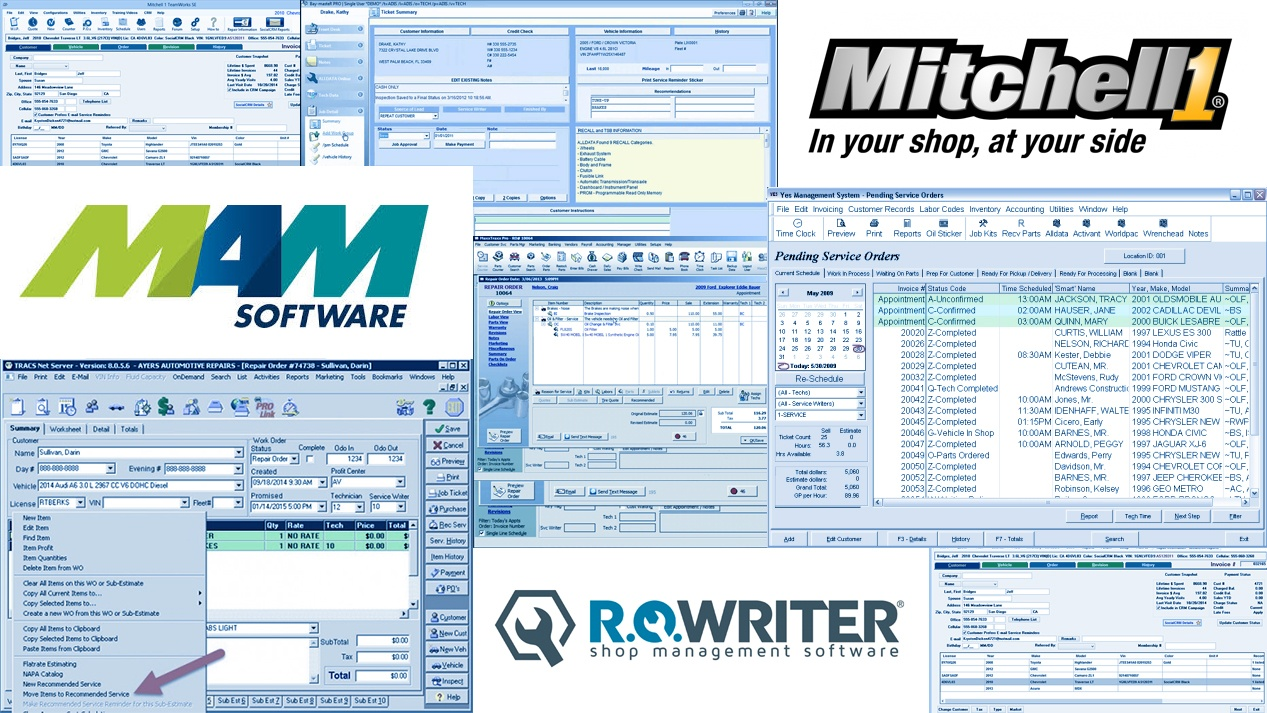 4 Things to Consider When Buying Auto Repair Software