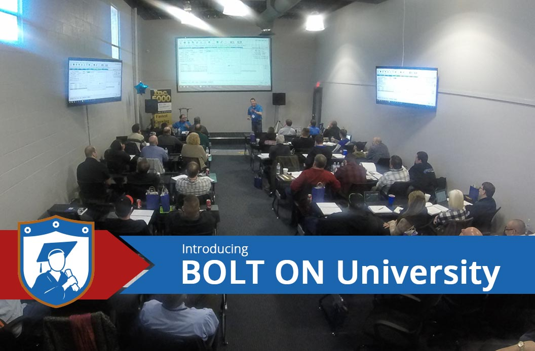 Introducing BOLT ON University