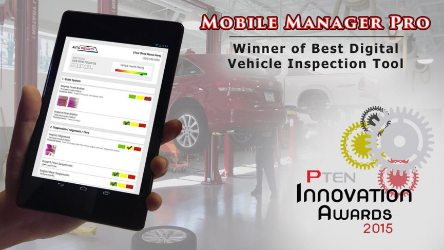 Mobile Manager Pro Wins PTEN Innovation Award