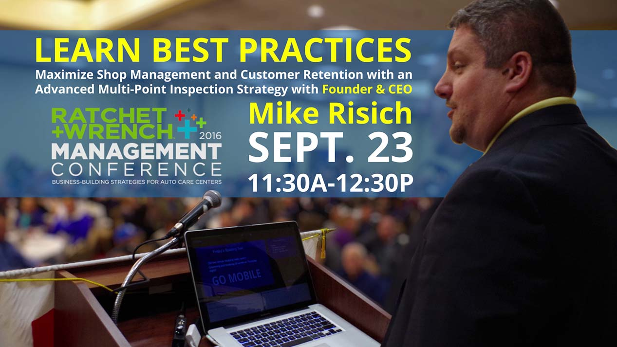 See Mike Risich at the Ratchet+Wrench Conference
