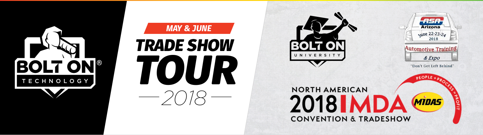 May & June Trade Show Tour